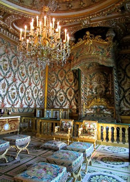 marie antoinette 39 s bedroom she never got to sleep here