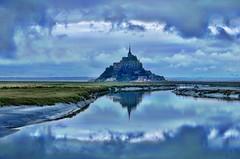 Mont Saint MIchel at Dawn - HDR Like
