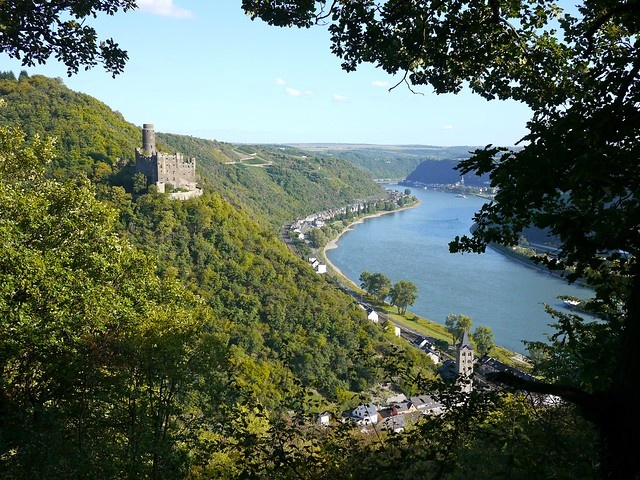 Rhine valley below Kestert