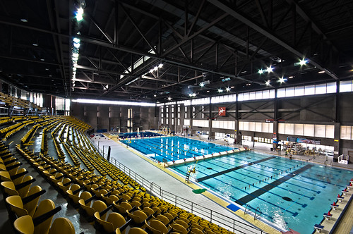 Flickriver photoset 39 architecture 39 by olivier chwaiki for Complexe sportif claude robillard piscine