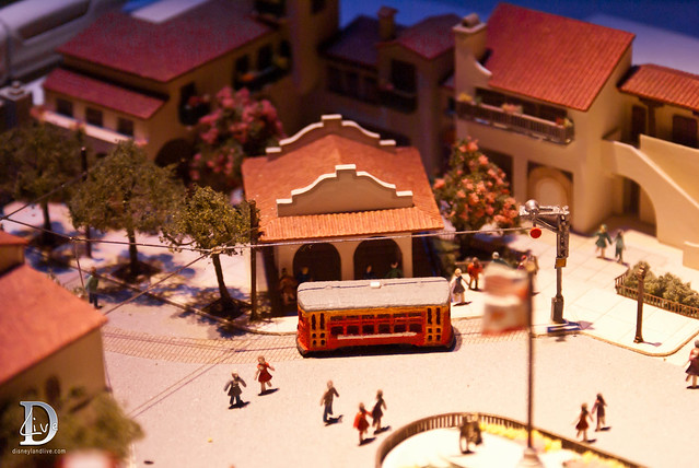 Blue Sky Cellar - Buena Vista Street - Red Car Trolley Model