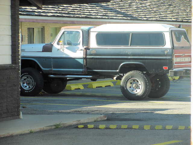 1970 F250 Highboy | Not the best shot, but a very cool truck… | By