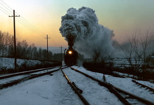 china snow industrial railway steam heilongjiangprovince shuangyashan gordonedgar stunningphotogpin qj6917