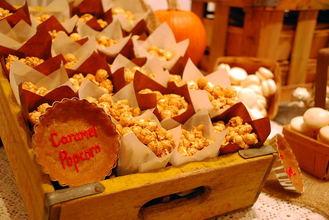 Rustic fall dessert table flickr photo sharing for Table 52 dessert