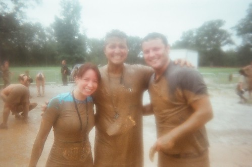 Amy, Ferf and Nick - Warrior Dash 2011