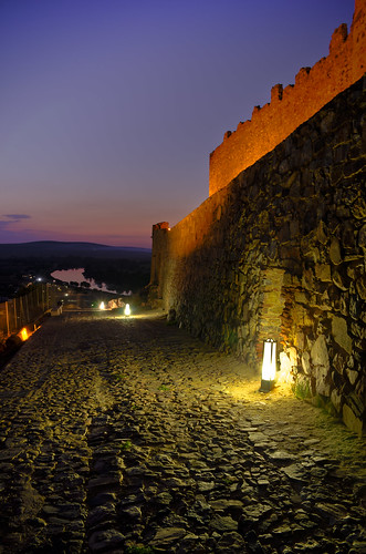 castle atardecer dusk medellin castillo