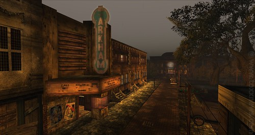 Second Life Destination - Innsmouth, a New England Coastal Town 1930