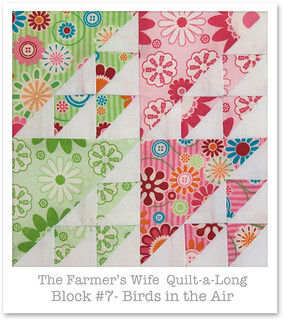 Farmer's Wife Quilt-a-Long - Block 7