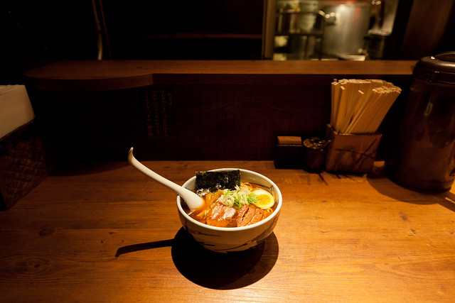 武蔵ら~麺 (Musashi Ramen) @ 麺屋武蔵新宿本店 (MENYA MUSASHI ...