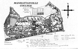 Manhattanville Campus Map.Ophir Manhattanville College Map W Notes Canalmapman Flickr