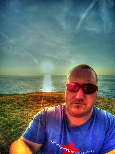 portrait self sunrise battery hero clarence guernsey 960 photomatix gopro italktocameras ramondoesnt mygorpoknowswhoisboss