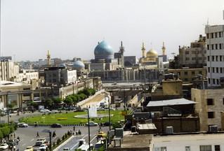 Mashhad, the holy shrine of Imam Reza