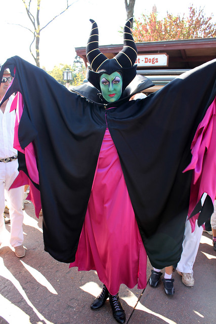 Meeting Maleficent
