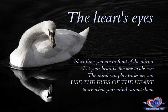 inspirational quote the heart 39 s eyes
