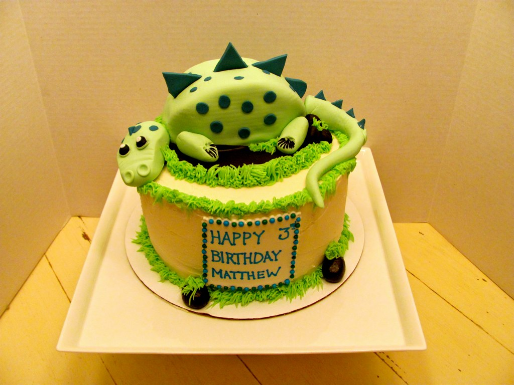 Dinosaur Birthday Cake  Flickr - Photo Sharing!
