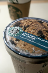 Java Chip Frappuccinos Ice Cream, Starbucks, San Francisco