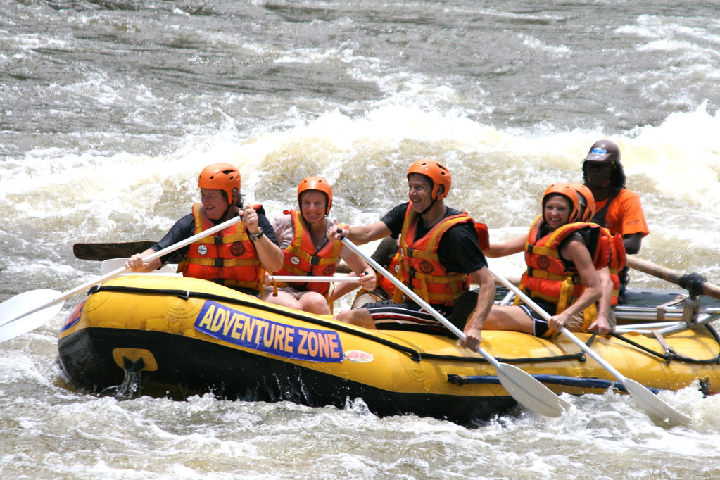 Whitewater Rafting Zambezi River