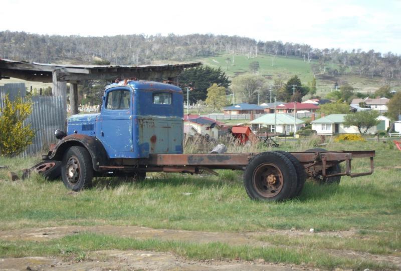 Blue Lorry