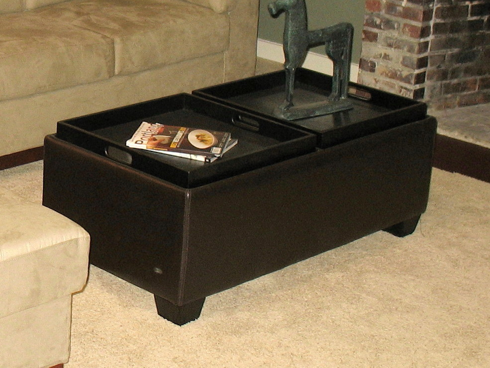 Coffee Table Storage Ottomans Coffee Table Bar Pub Table