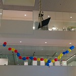 Media Lab Atrium: Balloons