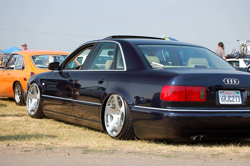Bagged Audi A8 on Rotiform NUE by Je®emyRegisteredTrademark