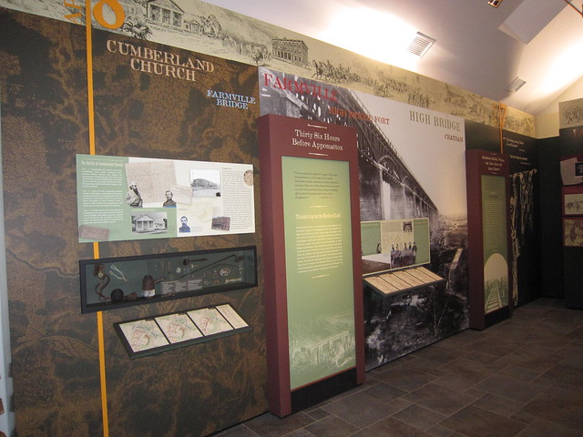 Exhibits at Sailor's Creek tell the story of the last 72 hours of the American Civil War.