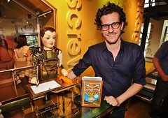 Hugo Cabret Author Brian Selznick & The Automaton at TFI