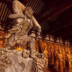 Fujin : Sanjusangendo temple, Kyoto, Japan / Japón