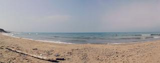 315 Metre uzunluğunda plaj görüntü. playa marruecos