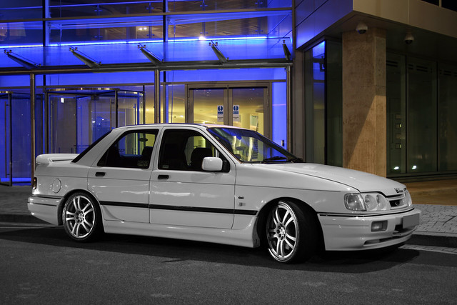 Ford Sierra Cosworth 4x4 - Black and White with Splash of