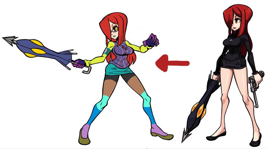 Character Design Colour Palette : The mugen fighters guild skullgirls page