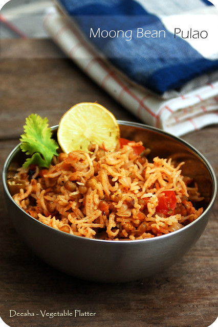 Moong Bean Pulao