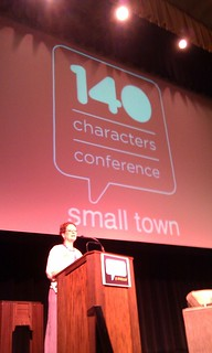 Tomi Ann Foust from @bbbsrenocounty at #140conf SmallTown