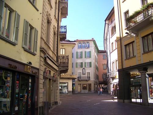 In giro per Lugano