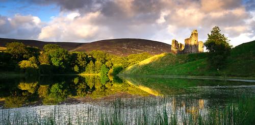 castle landscape morton dumfries galloway thornhill nithsdale