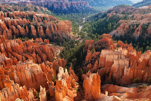 Morning light at Bryce Canyon NP