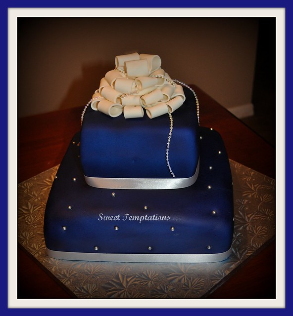Royal Blue Cake Images : Royal Blue Wedding Cake Flickr - Photo Sharing!