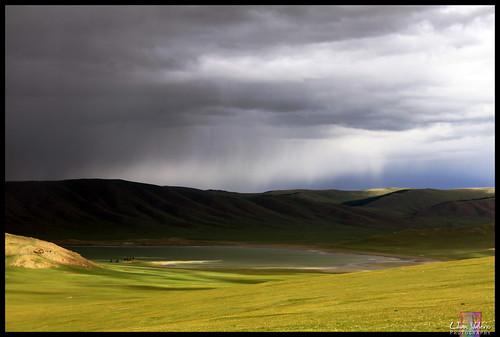 lake storm rain landscape mongolia nuur arkhangai khuvsgul colorphotoaward zuun