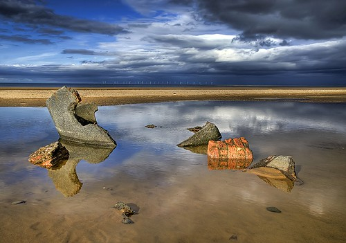 Talacre Beach,North Wales