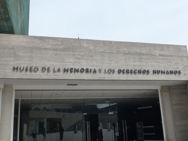 The entrance to the museum