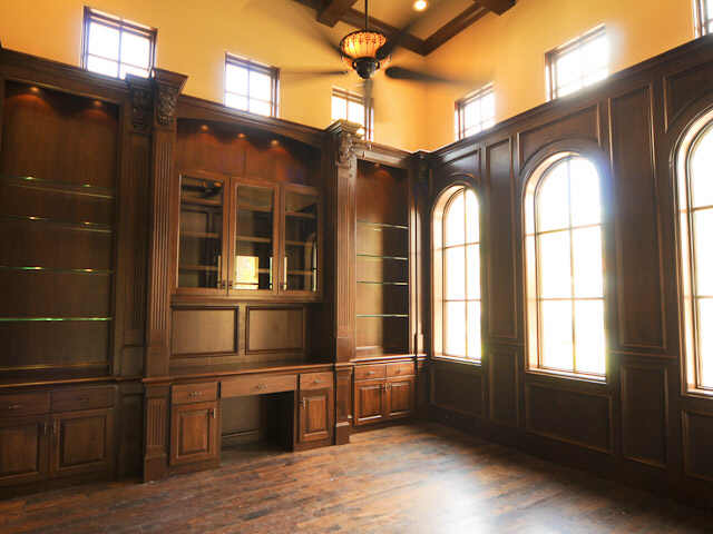 Custom Home Office Built Ins Custom Cabinets Trim