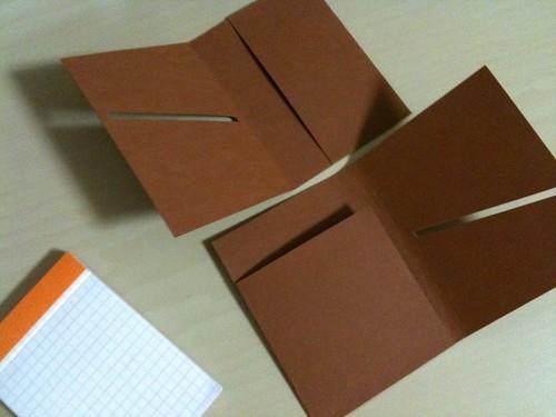 紙パッチ素材でメモカバーづくり (5) - 無料写真検索fotoq