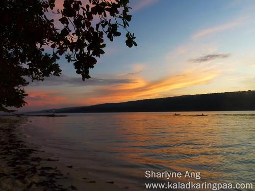 Sunrise in Isla Reta, Talicud 5