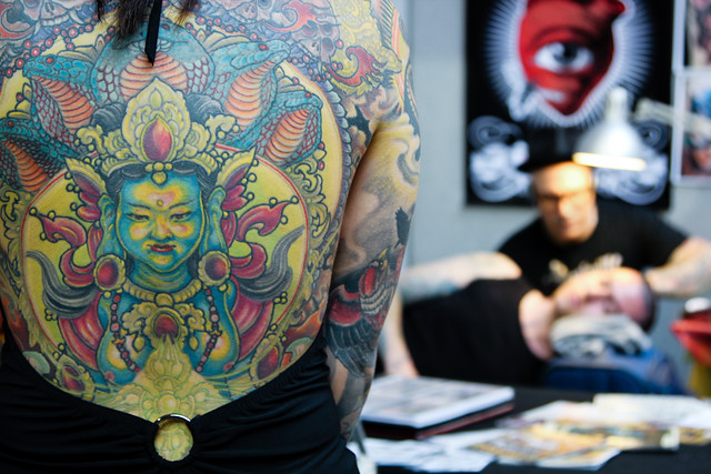 London Tattoo Convention at Tobacco Dock: 23 - 24 September 2011