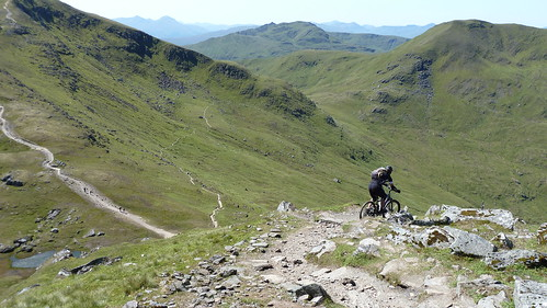 Descent from Lawers