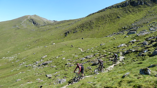 Halfway down from Lawers