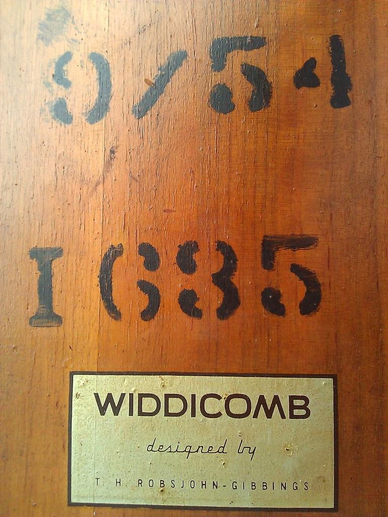 Widdicomb end table mark