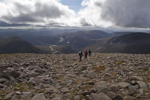 Just off the summit of Beinn MacDuibh