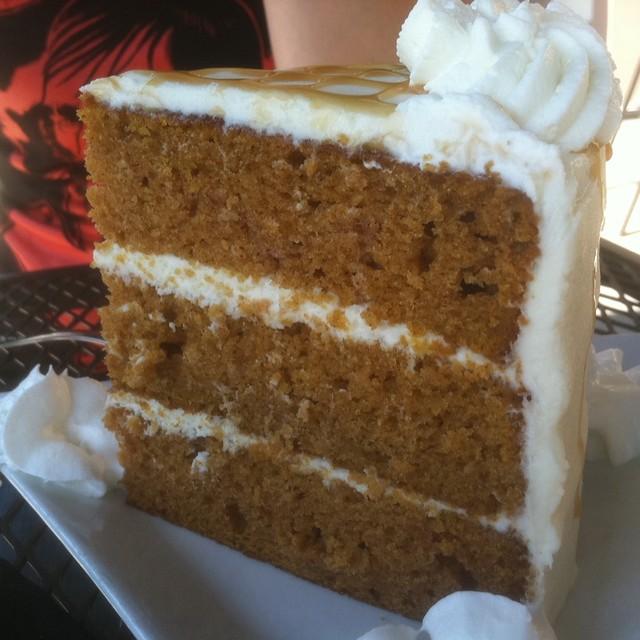 Caramel Pumpkin Cheesecake @ Eastside Bistro | Flickr - Photo Sharing!