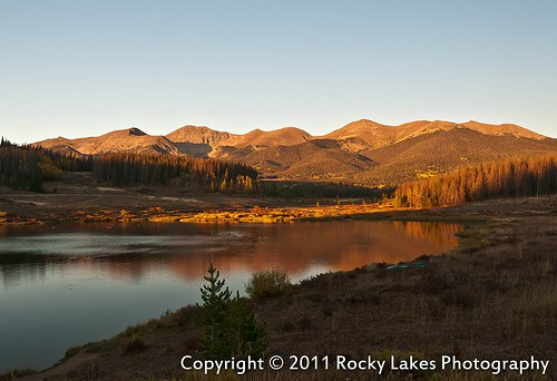 sunset lake mountains color fall landscape photography scenery colorado alpine rays aspen medicinebowmountains coloradostateforest mattried